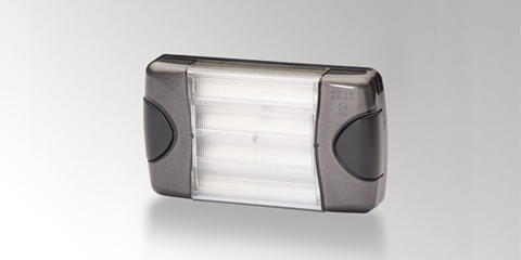 Dura LED rear combination lamp, rectangular, with a long lifetime, from HELLA