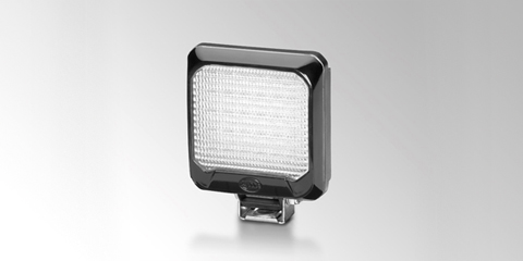 Flat Beam 500 compact LED work light, by HELLA