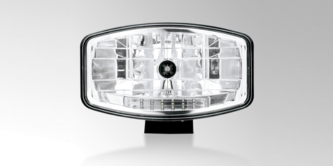 Flexible-to-assemble Jumbo 320 xenon high-beam headlamp with LED position light