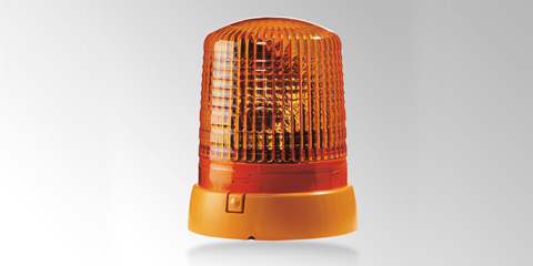 KL 7000 rotating beacon with particularly high light values, yellow, by HELLA