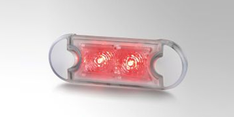 ECE type-approved and multi-voltage-capable LED clearance lamp by HELLA
