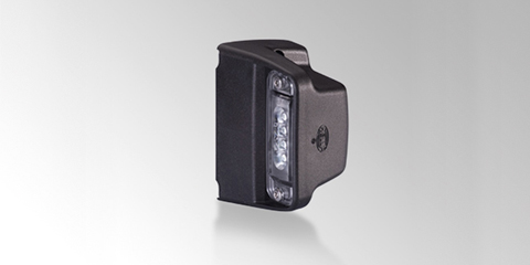 LED licence plate light with 4 power LEDs, by HELLA