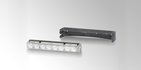 LEDayLine 15 and LEDayLine 30 set of daytime running lights with position light, for installation, rectangular, by HELLA