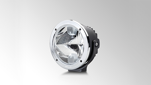 Luminator Compact LED with chrome design ring