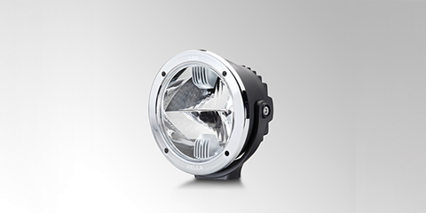 Luminator Compact LED compact 100% LED auxiliary spotlight by HELLA