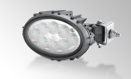 Oval 100 LED Thermo Pro con corpo esterno in plastica termoconduttiva