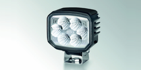 Power Beam 1800 LED work light from HELLA with a compact design and dimming function